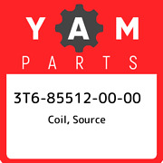 3t6-85512-00-00 Yamaha Coil, Source 3t6855120000, New Genuine Oem Part