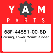 68f-44551-00-8d Yamaha Housing Lower Mount Rubber 1 68f44551008d New Genuine O