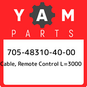 705-48310-40-00 Yamaha Cable Remote Control L=3000 705483104000 New Genuine Oe