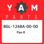 8gl-1248a-00-00 Yamaha Pipe 8 8gl1248a0000, New Genuine Oem Part