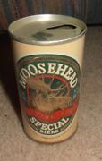 Vintage And Rare Moosehead Special Ale Very Old Beer Can Canada 12 Oz.