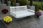 Aandl Furniture Co. Amish-made Poly Traditional English Swing Beds - In 4 Sizes