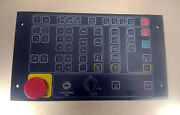 1 New Indramat Btm 1.01/00 Control Panel W/ Emergency Stop Nnb Make Offer