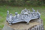 Cast Iron Oven Cover Fire Basket Dog Grate Fireplace Fire Grate Accessory Pp001