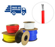 8 Awg Gauge Silicone Wire - Fine Strand Tinned Copper - 100 Ft. Red