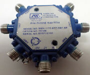 American Microwave Corps Pin Diode Switch Model Swn-1170-6dt-dec-sp Option 700m6