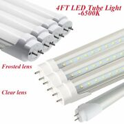 10-100pc 18w G13 T8 T12 Led Fluorescent Replacement Tubes 4ft 6500k Cool White