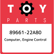 89661-22a80 Toyota Computer Engine Control 8966122a80 New Genuine Oem Part
