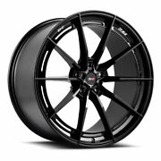 20 Savini Sv-f1 Forged Black Concave Wheels Rims Fits Jaguar F Type
