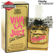 Viva La Juicy Gold Couture Perfume 3.4 Oz Edp Spray For Women By Juicy Couture