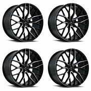 20 Savini Sv-f2 Forged Tinted Concave Wheels Rims Fits Infiniti Q60 Coupe