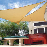 Clearance 30 Off - Coolaroo Ultra Shade Sail 23 Ft - Triangle - Ivory Color