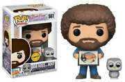 The Joy Of Painting - Bob Ross And Hoot-chase Edition Pop Vinyl-fun25701