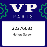 22276683 Volvo Penta Hollow Screw 22276683 New Genuine Oem Part