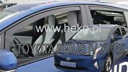 Heko Tinted Wind Deflectors For Toyota Prius Iv Xw50 2016-up 4pc