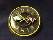 1957 Dual-ghia Hood Emblem Can Be Used As Steering Wheel Emblem--see Photo
