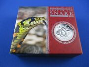 2013 Australian Lunar - Year Of The Snake 1oz Silver Proof Coin - Superb