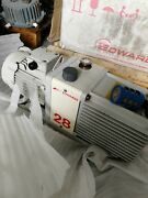 Edwards 28 E2m28 Rotary Vane Dual Stage Pumptested Working With Good Condition
