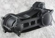 Ultima Black 3.35 Open Drag Style Belt Drive For Evo Twin Cam Softail 1990-2006