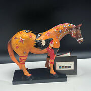 Trail Of Painted Ponies Figurine Statue Sculpture Ghost Horse 1544 Native Birds