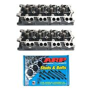 Enginetech 6.0l 18mm Complete Head Set With Arp Head Bolts 250-4202 And03903-06 6.0l