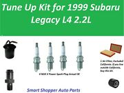 Tune Up For 1999 Subaru Legacy 2.2l Oil Filter, Air Filter, Fuel Filter Pcv Valv