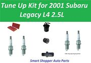Tune Up For 2001 Subaru Legacy 2.5l Fuel Filter, Oil Filter, Air Filter, Pcv Val
