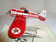 Ertl 1997 Wings Of Texaco 1930 Travel Air Model R Mystery Ship 5th The Series