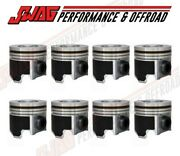 Enginetech Standard Piston And Ring Set 04.5-07 Ford 6.0l Powerstroke And Excursion
