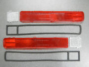 1965 Buick Riviera Tail Light Lenses And Back Up Lenses Set And Gaskets Taillight 65
