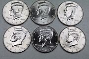2001 2002 2003 P And D Kennedy Half Dollar Uncirculated Mint Roll Set 2001-2003