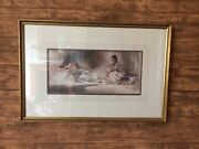 William Russel Flint Limited Edition Print..confidential Exchanges