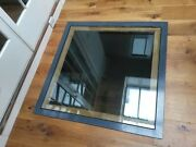 Toughened And Laminated Structural Glass Rooflight. Walk On Glazed Floor Panels