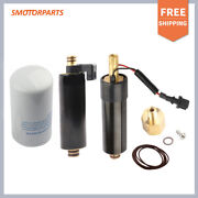 Set 3 High And Low Electric Fuel Pump W/ Filter For Volvo Penta 4.3 5.7 21545138