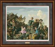 The Junk Yard Band Framed Limited Edition Print By Bob Byerley