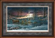 A Helping Hand Framed Limited Edition Print By Terry Redlin