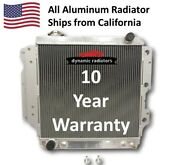 3row All Aluminum Radiator For 1987-2006 Jeep Wrangler Yj Tj Mt/at Hpr402
