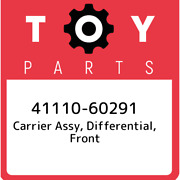 41110-60291 Toyota Carrier Assy Differential Front 4111060291 New Genuine Oem