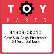 41303-0k010 Toyota Case Sub-assy, Electronic Differential Lock 413030k010, New G