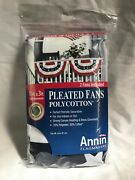 American Flag Fans Annin Flagmakers Pleated Fans 1.5ft X 3ft With Grommets Qty 2