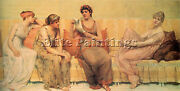 Millet Fracis David Reading Story Oenone Artist Painting Oil Canvas Repro Art