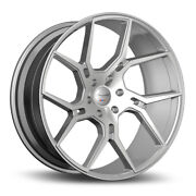 22 Gianelle Dilijan Silver Concave Wheels Rims Fits Bmw F06 F12 F13 640 650