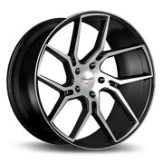 22 Gianelle Dilijan Machined Concave Wheels Rims Fits Cadillac Cts V Coupe