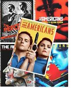 The Americans Tv Series Complete Seasons 1-5 Dvd 1 2 3 4 5 Free Expedited Ship