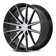 24 Ferrada Ft1 Machined Concave Wheels Rims Fits Ford F-150 - Set Of 4