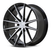 22 Ferrada Ft1 Machined Concave Wheels Rims Fits Ford F-150 - Set Of 4