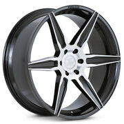 24 Ferrada Ft2 Machined Concave Wheels Rims Fits Ford Raptor