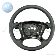 Oem Mercedes-benz E350 E500 Cls500 Cls550 Leather Steering Wheel W. Gear Paddles