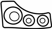 Mercruiser Bravo 1,2 And 3 Outdrive Installation Gasket Kit, Replaces 18-2615