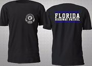 New Florida Highway Patrol Police T Shirt Size S-4xl